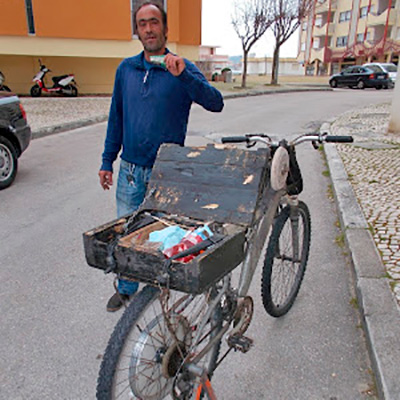 Gaita de amolador, Portugal