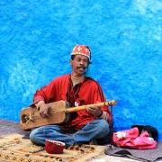 Guember, cordofone dedilhado, Marrocos