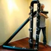 Hyperbass flute, a maior flauta do mundo