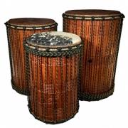 Kenkeni, o menor dos três tambores djun-djun, Mali