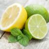 Limões e hortelã