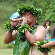Nose flute, Hawaii
