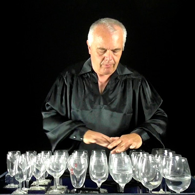 Verrillon, harpa de vidro, Jean Claude Welche