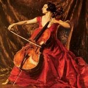 Violoncelista Guilhermina Suggia