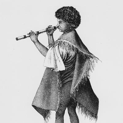Vivo, flauta nasal, Tahiti