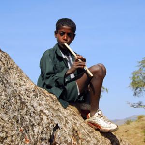 Washint, flauta, Etiópia