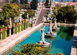 Jardim do Paço Episcopal, Castelo Branco, Beira Baixa