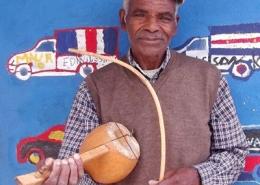 Cimboa, cordofone de arco, Cabo Verde