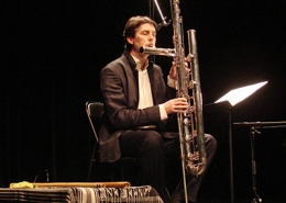 Double contrabass flute, Magnus Manske