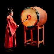 Jingo, bimembranofone de barril, Coreia do Sul