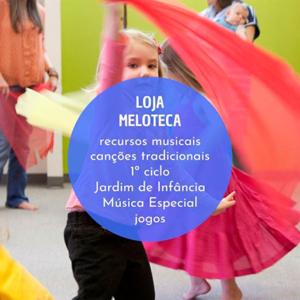 Loja Meloteca, recursos criativos para musicalização infantil