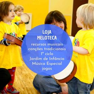 Loja Meloteca, recursos musicais criativos para a infância