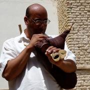 Mezoued, gaita de fole, Tunísia