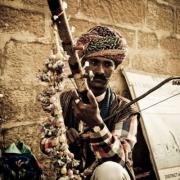 Ravana hasta veena, cordofone de arco, Índia