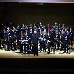Jorge Campos com a Banda de Música da AML