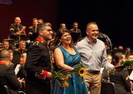 Jorge Campos, à direita, com Renato Tomás e Rita Marques