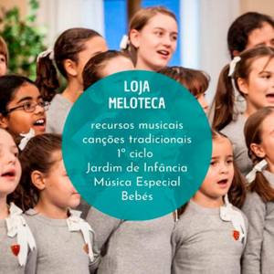 Meloteca, recursos musicais criativos para crianças, professores, educadores e animadores