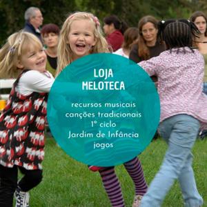 Loja Meloteca, recursos musicais para a infância