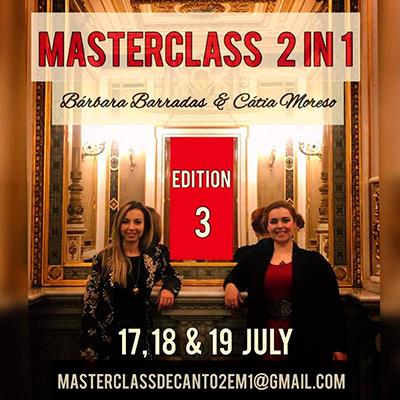 Masterclass 2 in 1 Bárbara Barradas & Cátia Moreso