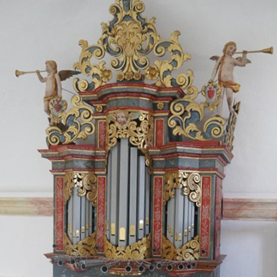 Órgão da Igreja Matriz de Nossa Senhora da Conceição, Almodôvar