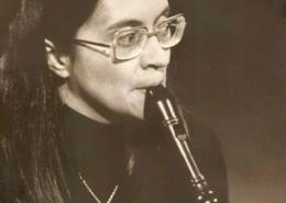 Catarina Latino, flauta e percussão