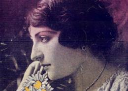 Emília Rodrigues, cantora lírica nascida em Cascais