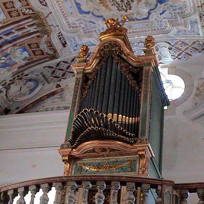 Órgão da Igreja Matriz de Arrentela, Seixal, restauro pela Oficina e Escola de Organaria
