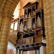 Órgão da Sé de Évora, tribuna