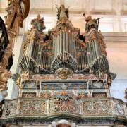 Órgão histórico da igreja do mosteiro de Tibães, Braga