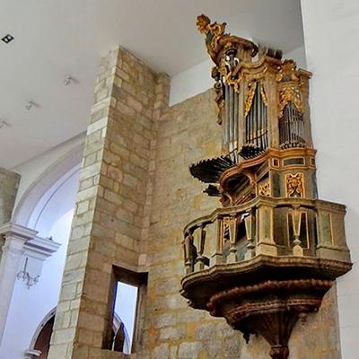 Órgão histórico da Sé de Aveiro, antigo convento de São Domingos