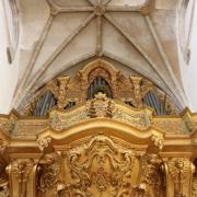 Órgão da antiga sé de Elvas, igreja de Nossa Senhora da Assunção