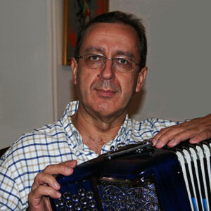 Hermenegildo Guerreiro, acordeonista natural de Salir, Loulé