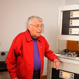 Hugo Ribeiro, técnico de som natural de Vila Real de Santo António