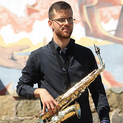 João Carvalho, saxofone