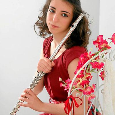 Maria João Balseiro, flautista natural de Ílhavo
