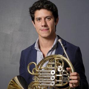 Mickael Faustino, trompista português