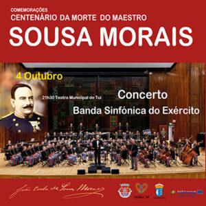 2019, centenário da morte do maestro e compositor Sousa Morais