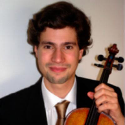 Tiago Neto, violinista, natural de Lisboa