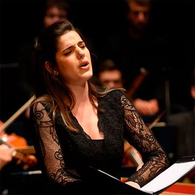 Ana Vieira Leite, soprano natural de Braga