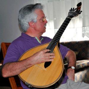 António Andias, guitarra portuguesa, natural de Aveiro