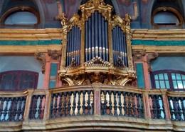 Órgão de tubos António Xavier Machado e Cerveira, na Capela do Palácio da Bemposta, em Lisboa, Portugal, de 1792