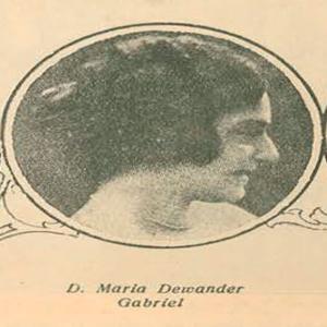 Marina Dewander Gabriel, meio-soprano natural de Angra do Heroísmo