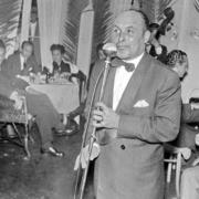 Max, cantor, no Funchal em 1963, em homenagem da Câmara Municipal do Funchal