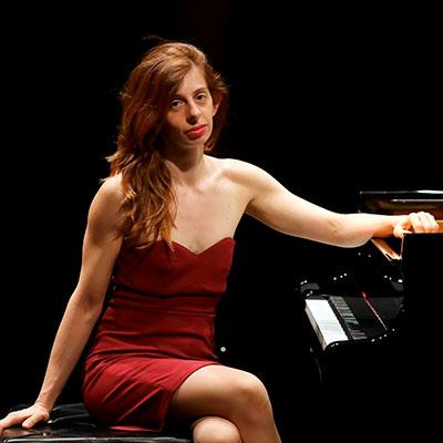 Teresa da Palma Pereira, pianista natural de Lisboa