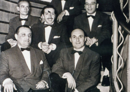 Tony Amaral and his boys