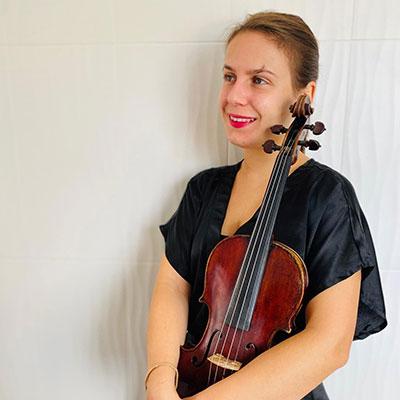 Ana Paula Dutra, violinista, Açores