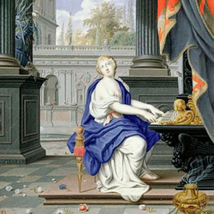 Santa Cecília de Johann Ziegler (Alemanha/Áustria, 1749-1812)