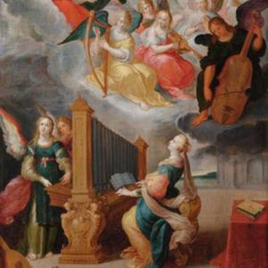 Santa Cecília, de Cornelis de Baellieur o Velho