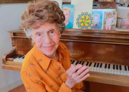 Colette Maze, pianista