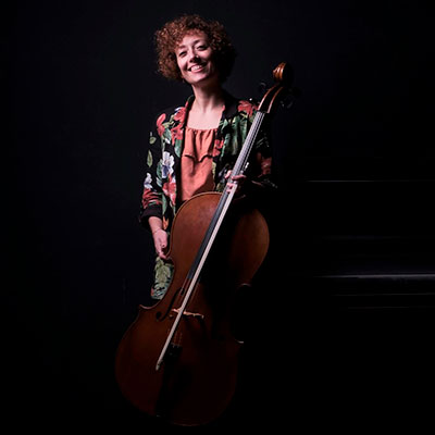 Ana Domingas, violoncelista portuguesa, créditos Miguel Silva